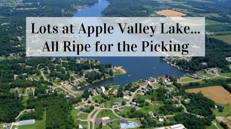 Apple Valley Ohio Lots for sale