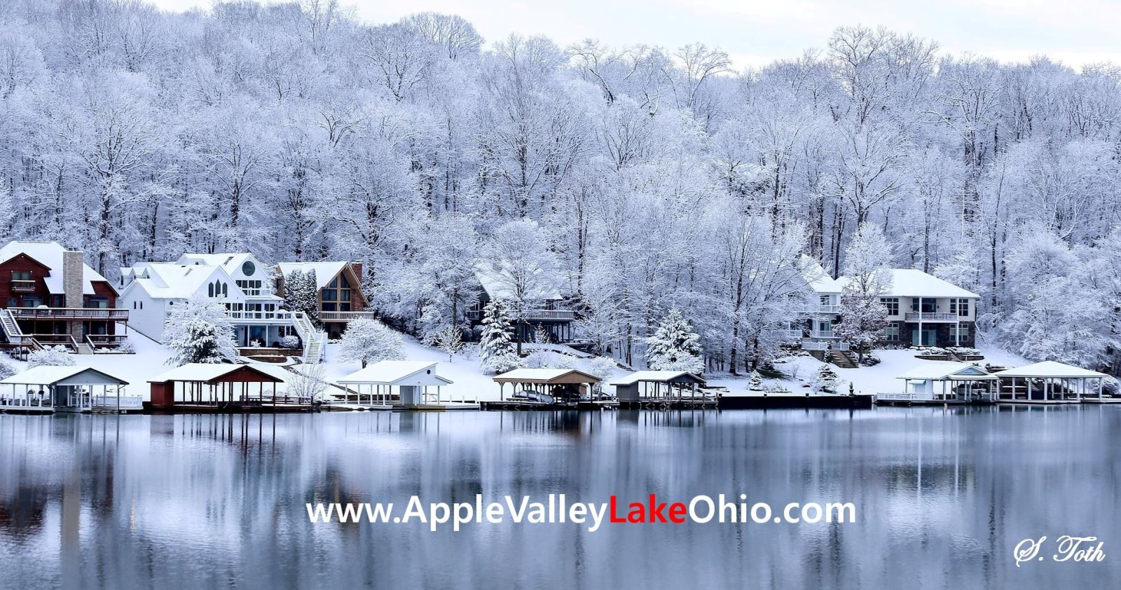 Weather at Apple Valley Lake Ohio - Winter