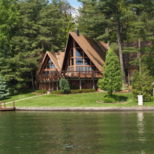 Lake Front Home Images